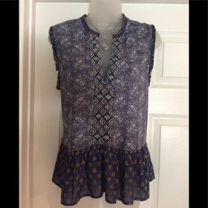 Lucky brand pullover blouse